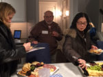 Networking event at Paoli Square townhomes